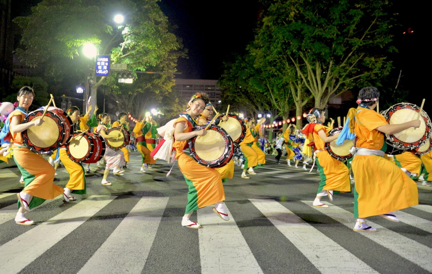 赤坂さんさパレード2019!写真で振り返る盛岡の夏